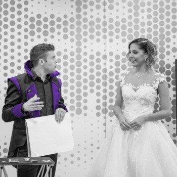 zauberer pad alexander an einer Hochzeit